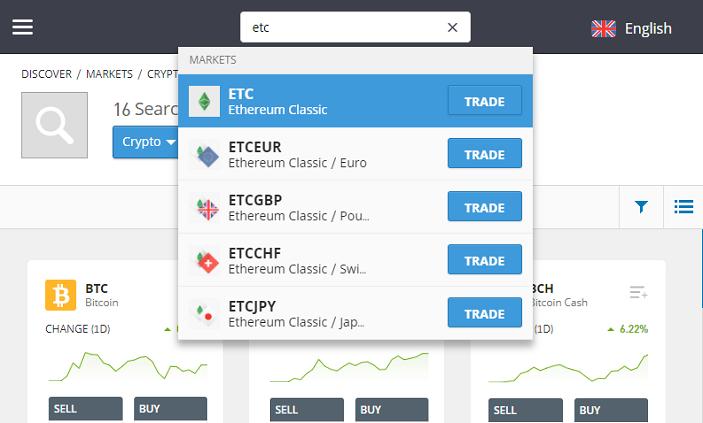 investing in ethereum classic, etc price