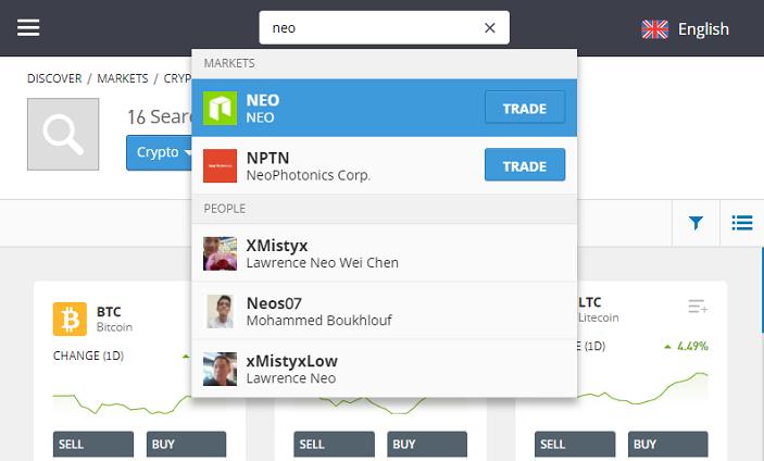 investing in NEO