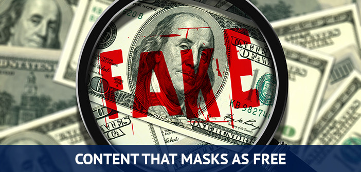 content that masks as free forex trading tool