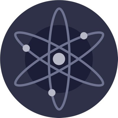 cosmos logo, atom