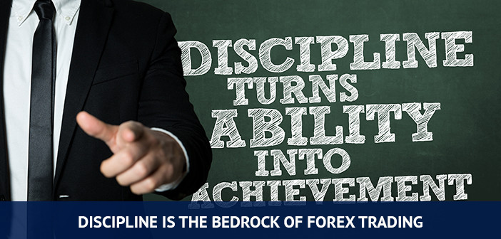 discipline is the bedrock of forex trading