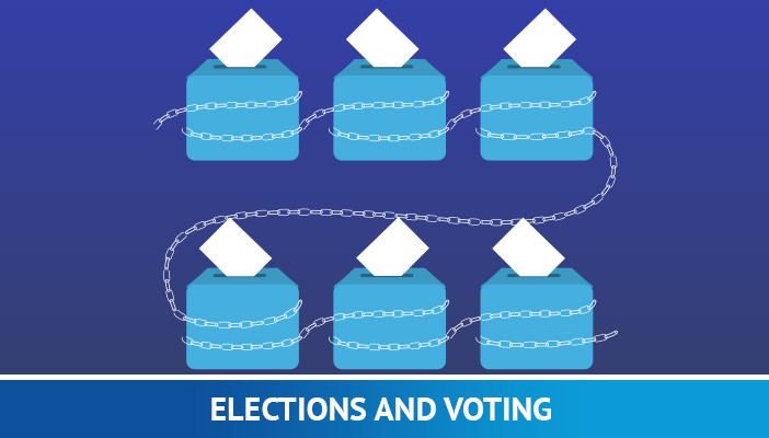blockchain technology in elections and voting