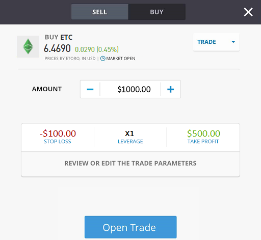 how to trade ethereum classic