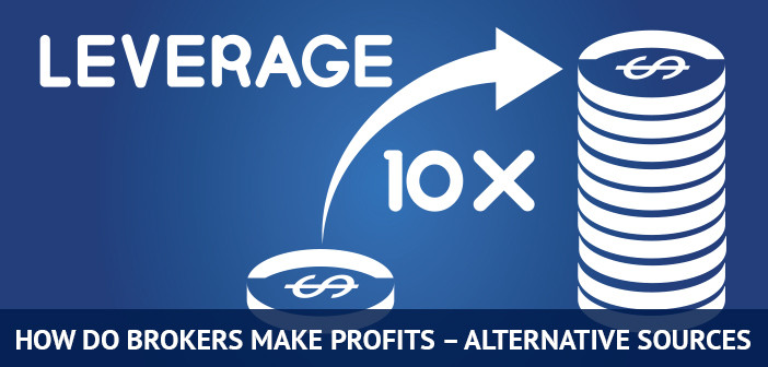 how do brokers make profits from alternative sources