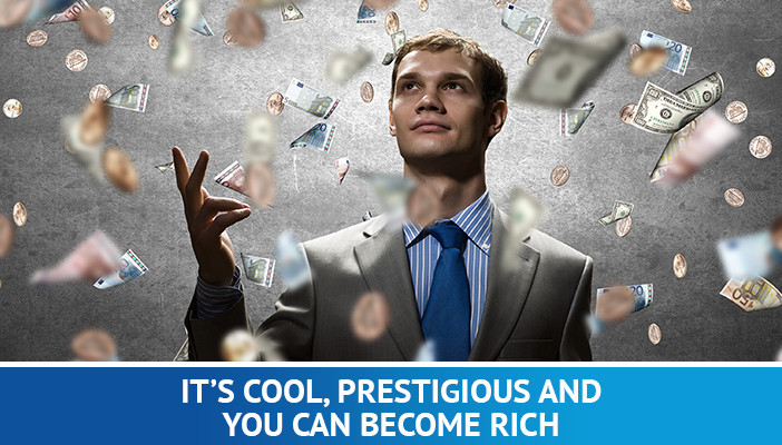 you can become rich trading forex, full time forex trader
