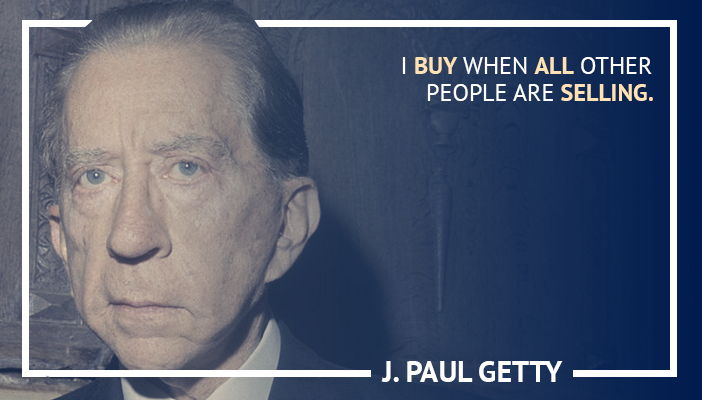trading quotes by J Paul Getty