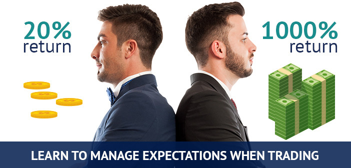 learn to manage expectations when trading forex
