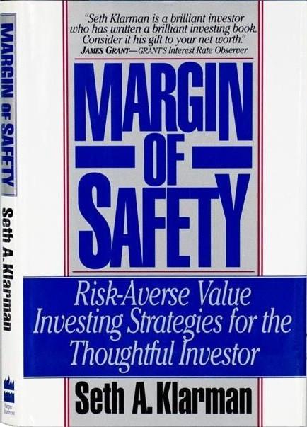 margin of safety book by Seth Klarman