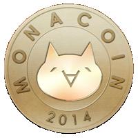 monacoin logo, mona