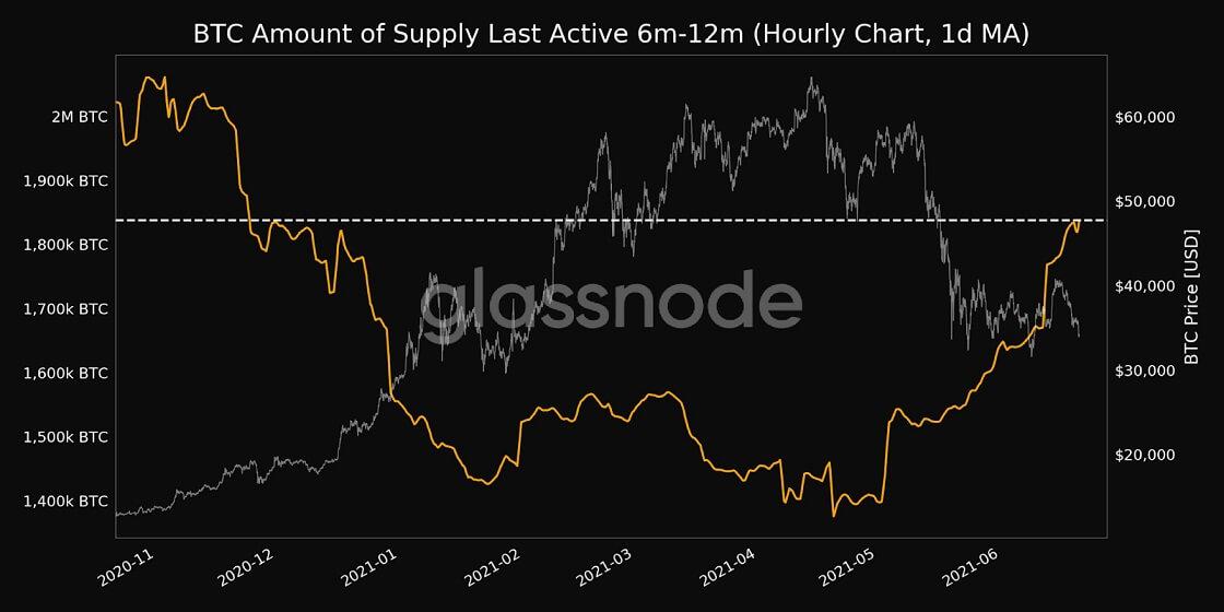 BTC/USD glassnode chart 2 062121