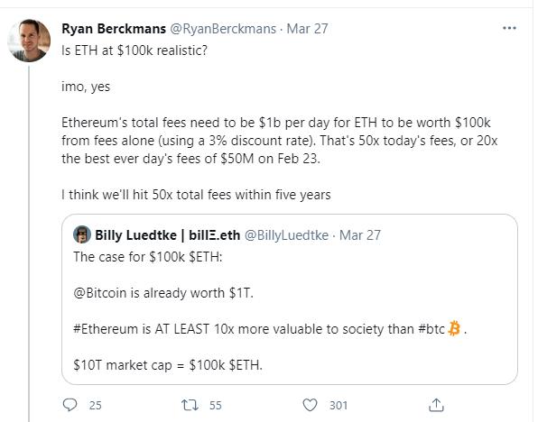 Berckmans Tweet