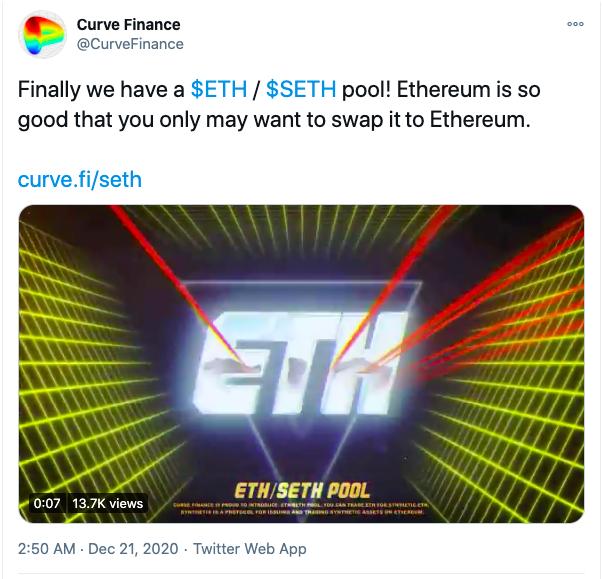 ethereum seth pool