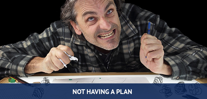 not having a plan when trading forex