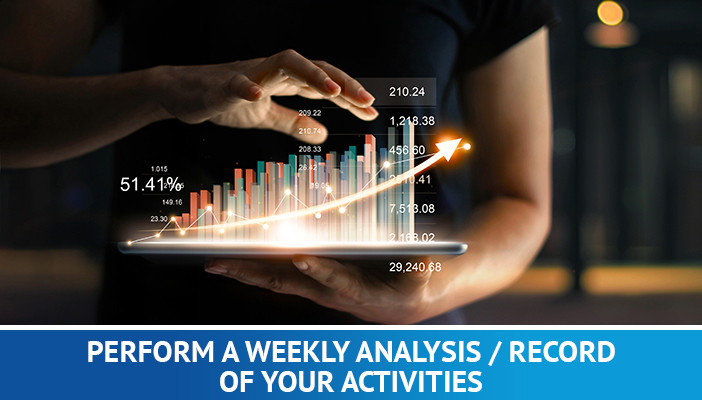 forex tricks and tips, perform a weekly analysis