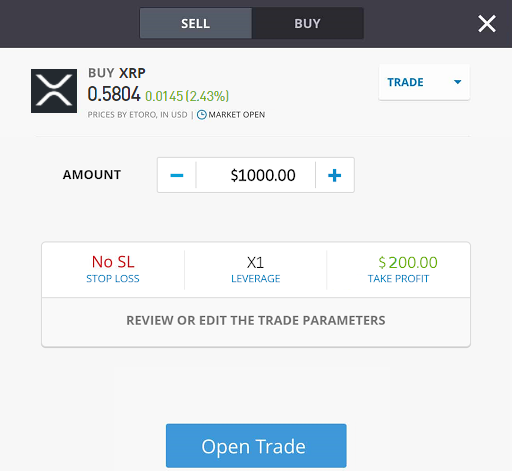 trading order, how to buy ripple