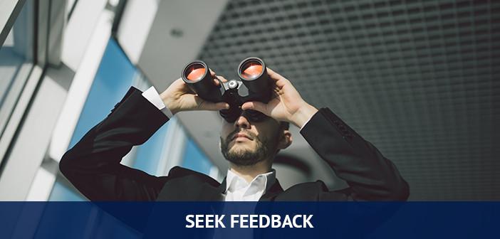 seek feedback, trading habits