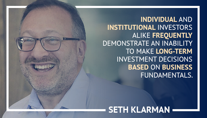 trading quotes by Seth Klarman