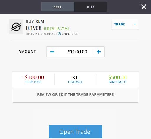 trading stellar xlm