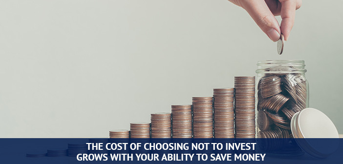 growing  cost of not investing