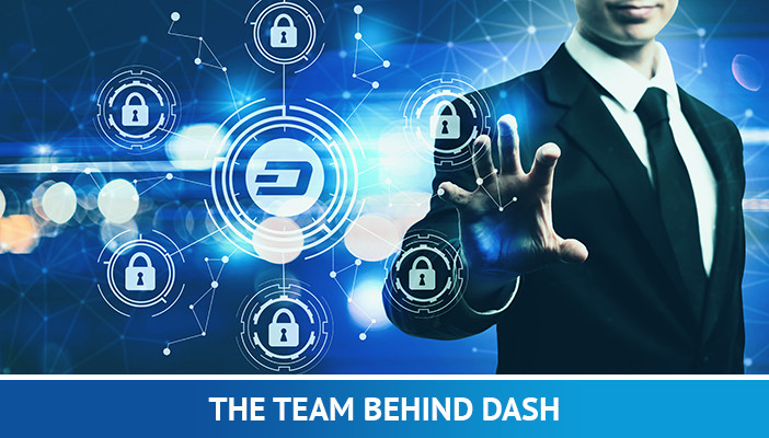 team created dash coin