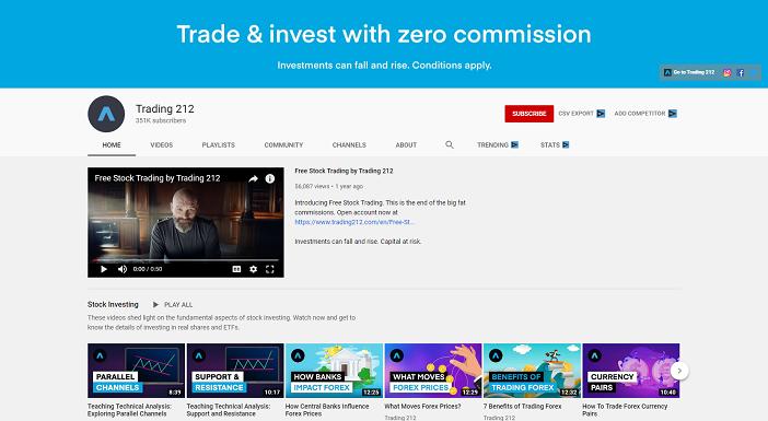 trading 212 youtube