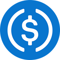 usd coin logo, usdc