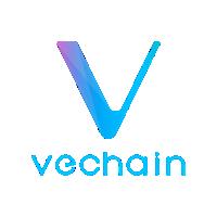 vechain logo, vet