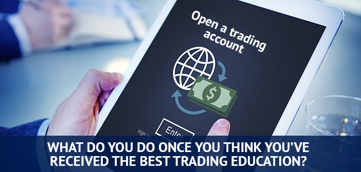 open trading account