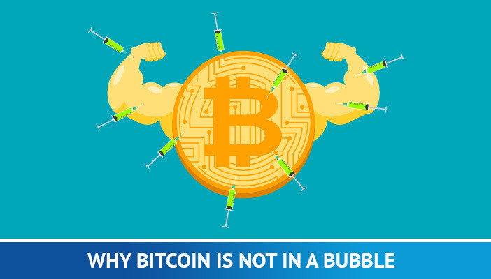 bitcoin not a bubble