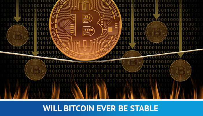 will bitcoin price be stable, bitcoin balancing on a thin wire