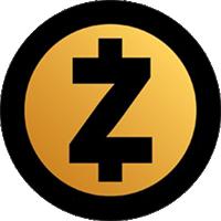 zcash logo, zec